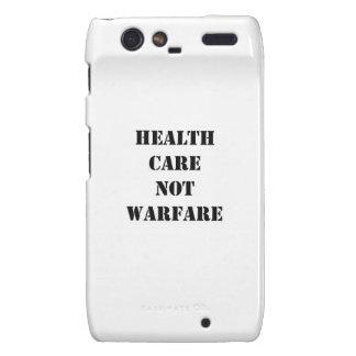 Health Care Not Warfare Droid RAZR Cases