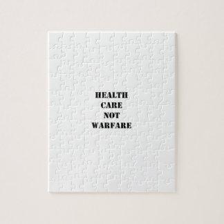 Health Care Not Warfare Jigsaw Puzzles