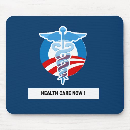 HEALTH CARE NOW MOUSE PADS