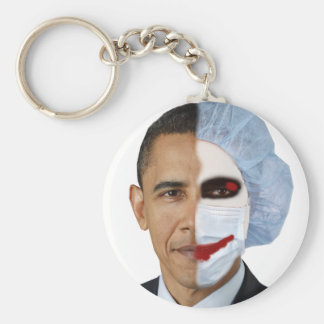 health care obama joker keychain