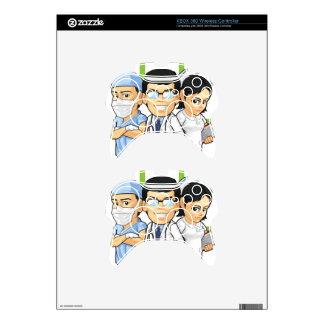 Health Care or Medical Staff - Doctor & Nurse Xbox 360 Controller Skin