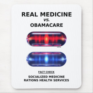 Health Care Rationing Mouse Pad