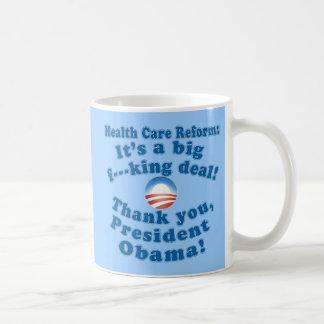 Health Care Reform F Bomb Tshirt Coffee Mug