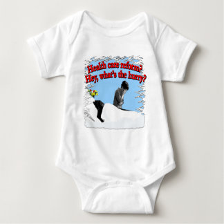 Health Care Reform What's the Hurry? Baby Bodysuit