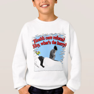 Health Care Reform What's the Hurry? Sweatshirt