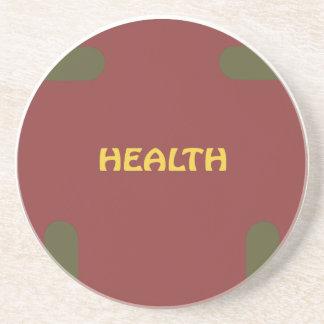 Health, Christmas Coaster With Eagle Sponap
