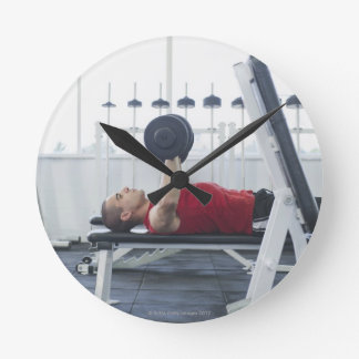 Health Club 2 Round Clock
