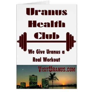Health Club Card