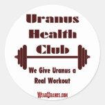 Health Club Classic Round Sticker