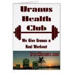 Health Club Greeting Card