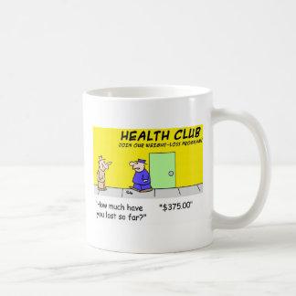 health club lost mugs