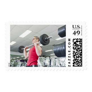 Health Club Postage Stamp