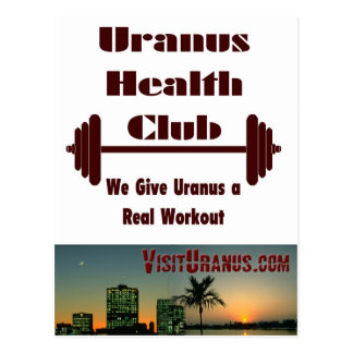 Health Club Postcard