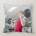 Health Club Throw Pillow