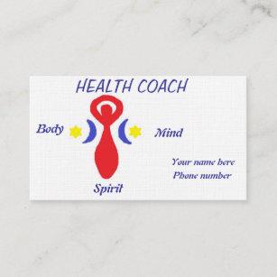 Health Coach Business Card