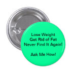 Health Coach - Weight Loss Pinback Buttons