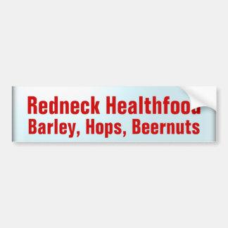 Health Food Car Bumper Sticker