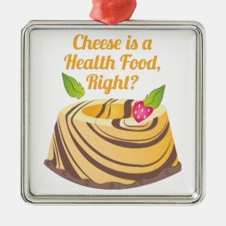 Health Food Metal Ornament