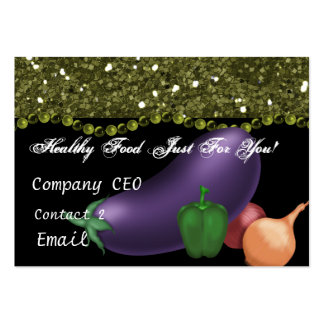 HEALTH FOOD STORE Business Card