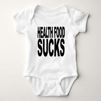 Health Food Sucks Baby Bodysuit