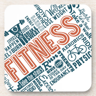 Health, Gym & Fitness gear and apparel Beverage Coaster