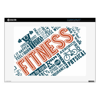Health, Gym & Fitness gear and apparel Skins For Laptops