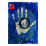 Health Hand Print Cards