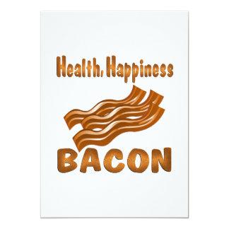 Health Happiness Bacon Card