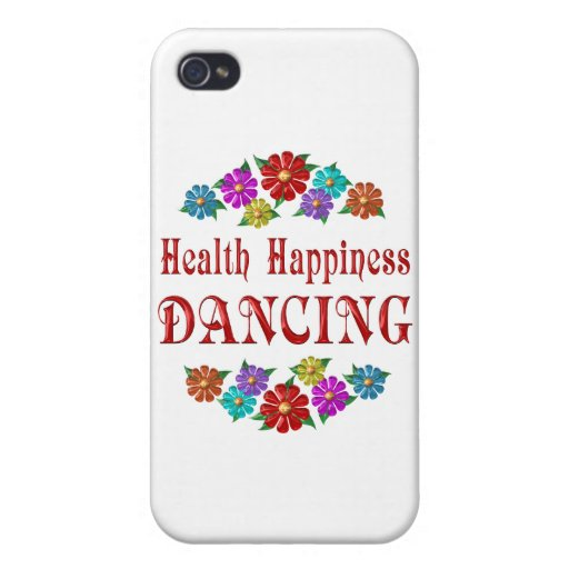Health Happiness Dancing Covers For iPhone 4