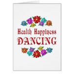Health Happiness Dancing Greeting Card