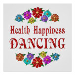 Health Happiness Dancing Poster
