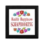Health Happiness Scrapbooking Gift Box