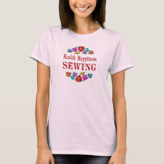 Health Happiness Sewing T-Shirt