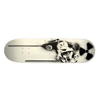 Health Hazard (beige) Skateboard