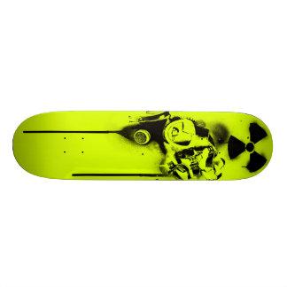 Health Hazard (Yellowish Green) Skateboard