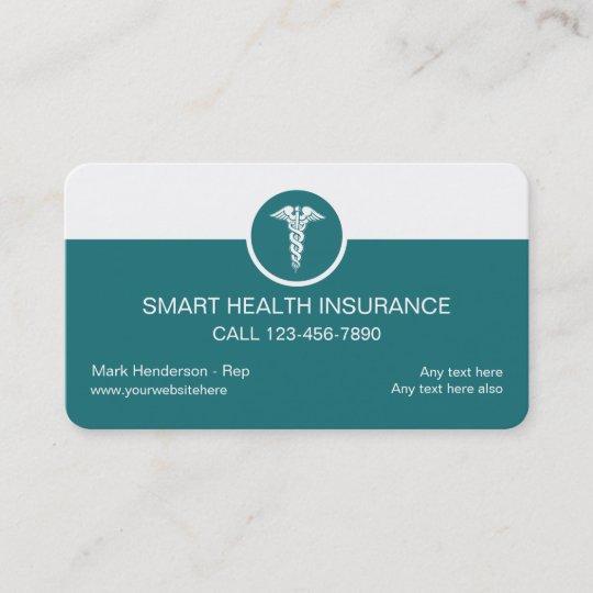 Health insurance business cards zazzle health insurance business cards colourmoves