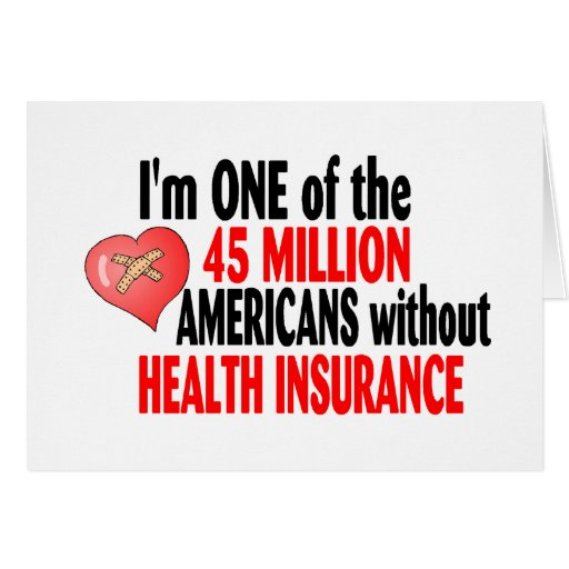 Health Insurance Greeting Card