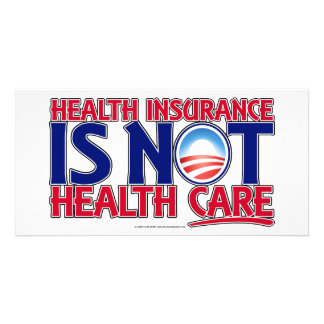 Health Insurance Health Care Picture Card
