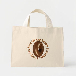 Health Insurance Mini Tote Bag