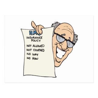 Health Insurance Postcard