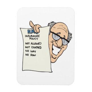 Health Insurance Rectangular Photo Magnet