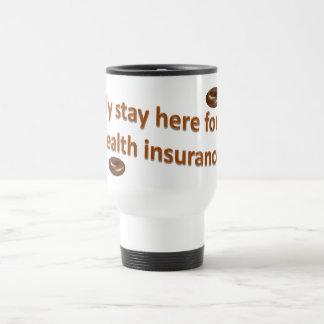 Health Insurance Travel Mug