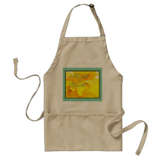 """""""Health is Wealth"""" Apron - home sweet home"""