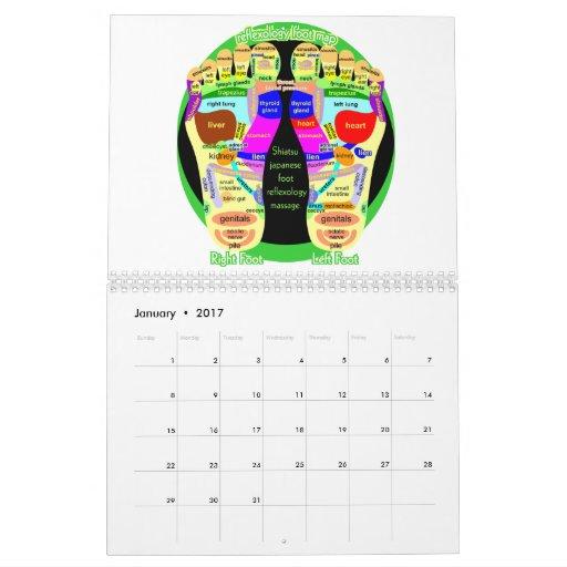 health Japanese Calendar