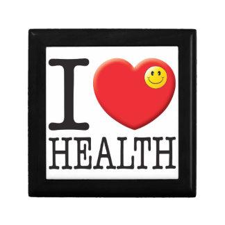 Health Love Trinket Box