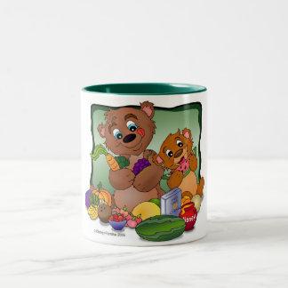 Health Nut Bears Mug