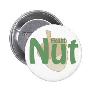Health Nut Button
