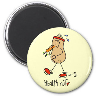 Health Nut T-shirts and Gifts Refrigerator Magnets