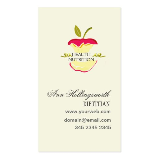 1000 weight loss business cards and weight loss business for Nutrition business cards