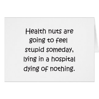 Health Nuts Cards